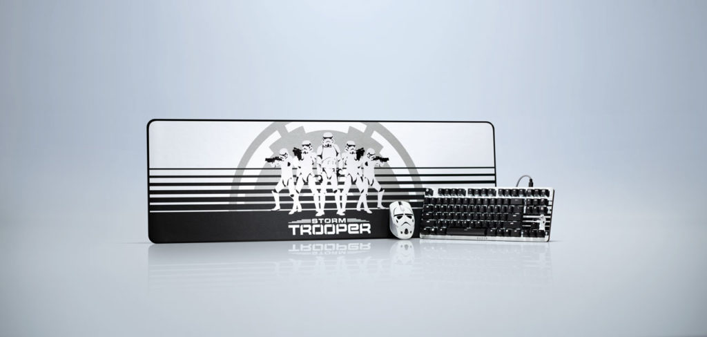 Razer's stormtrooper keyboard and computer gear
