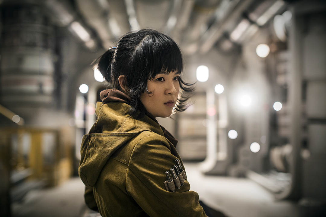 Rose Tico in The Last Jedi.