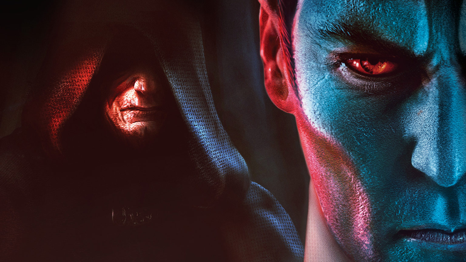 The Emperor and Thrawn on the cover of Thrawn: Treason