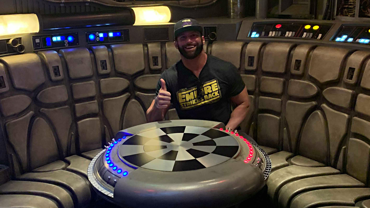 WWE's Zack Ryder on Star Wars Collecting and Facing Darth