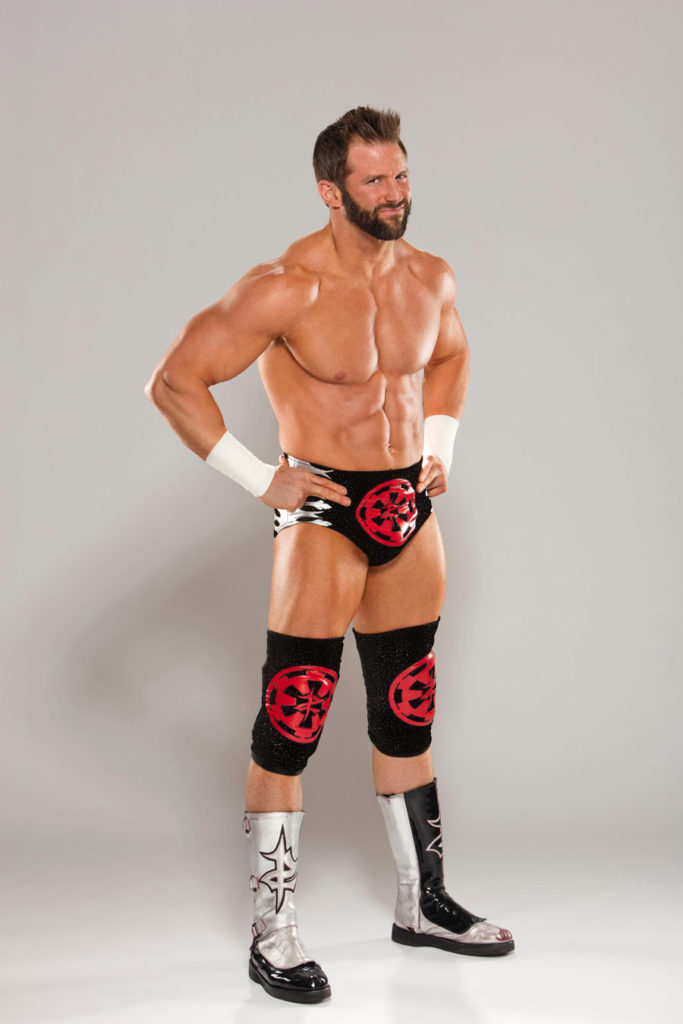 ZAck Ryder in Star Wars-themed wrestling gear.