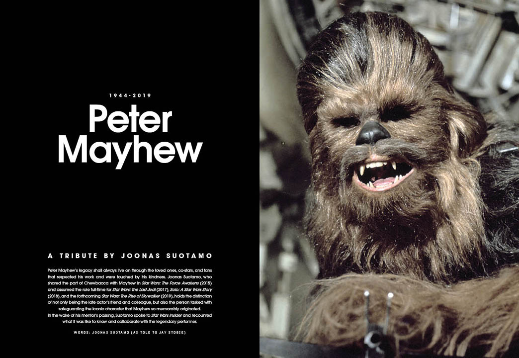 A spread from Star Wars Insider 191.