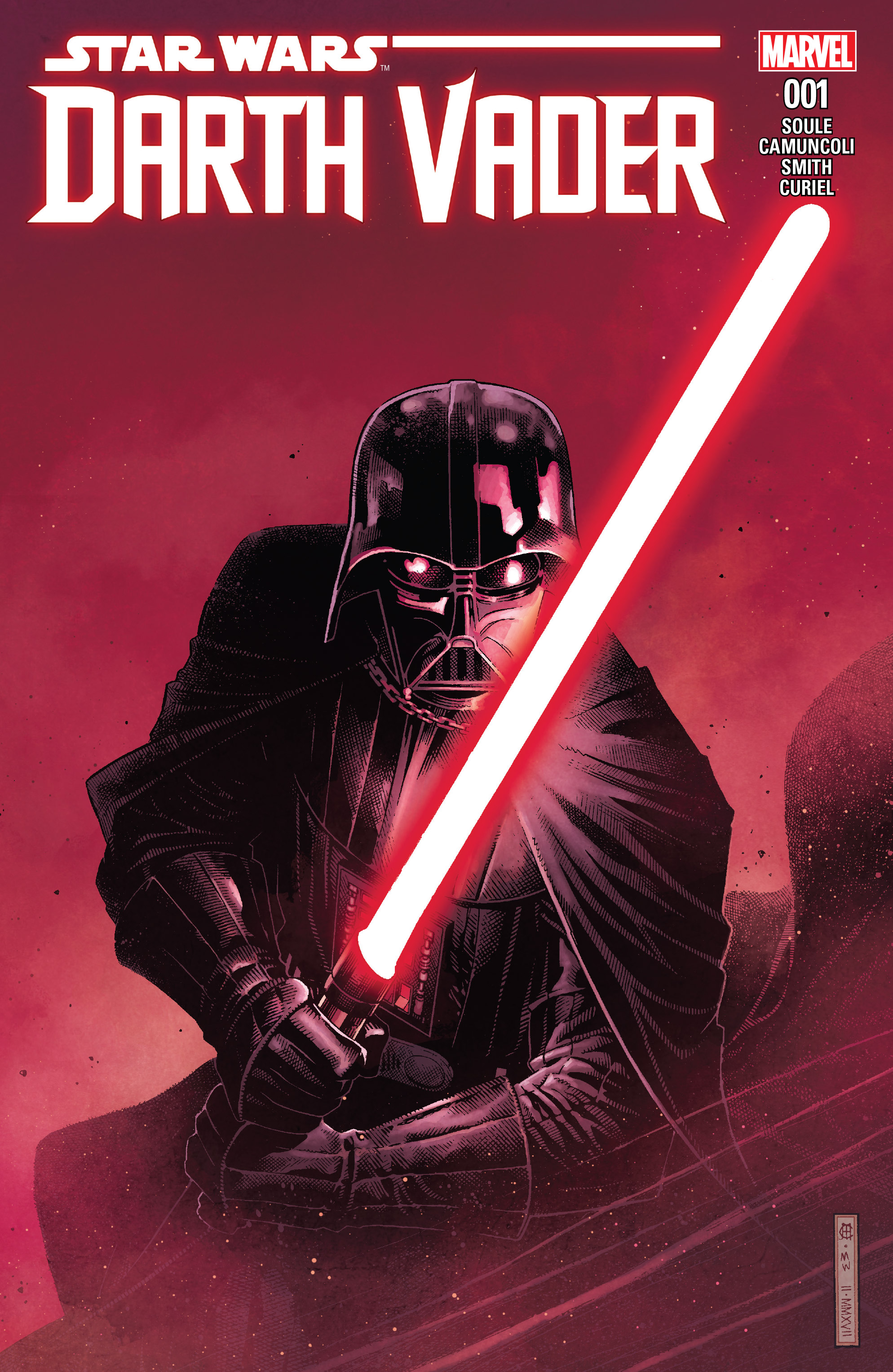 Darth Vader Dark Lord of the Sith cover