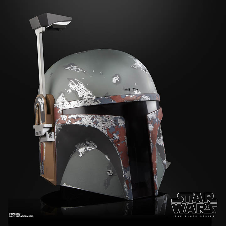 Hasbro Black Series Boba Fett Helmet side view