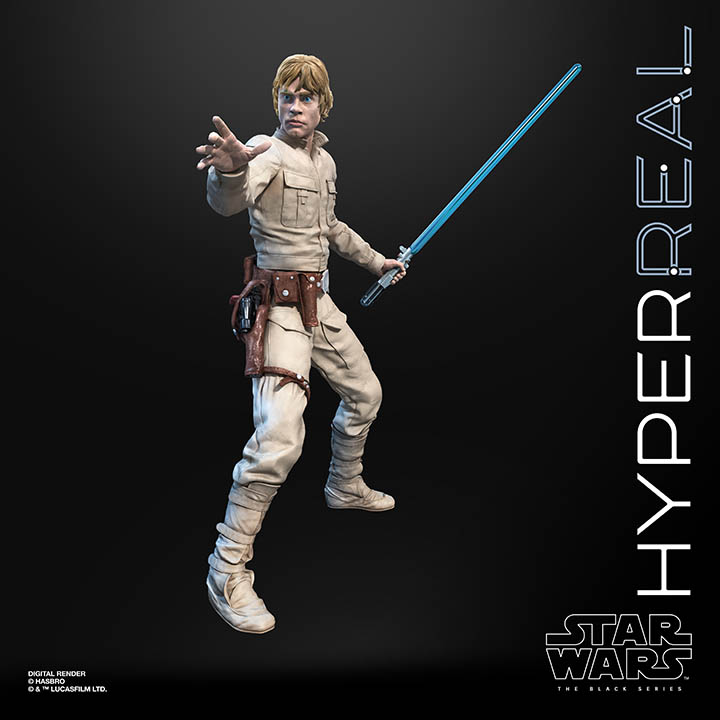 Hasbro Hyperreal Luke Skywalker