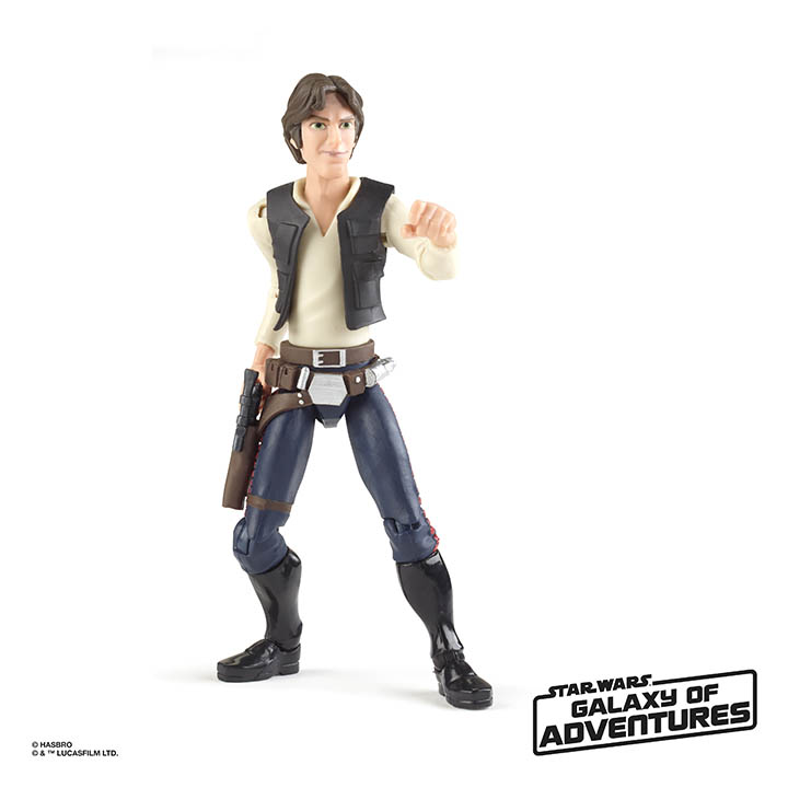 Hasbro Galaxy of Adventures Han Solo