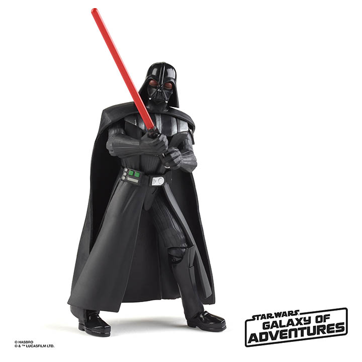 Hasbro Galaxy of Adventures Vader
