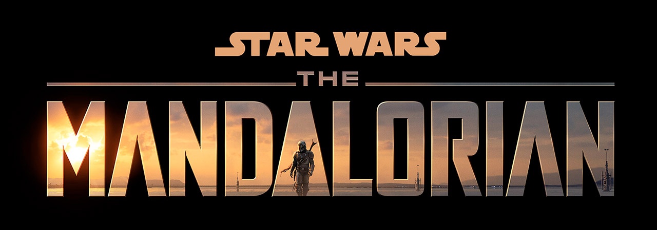 The Mandalorian logo.
