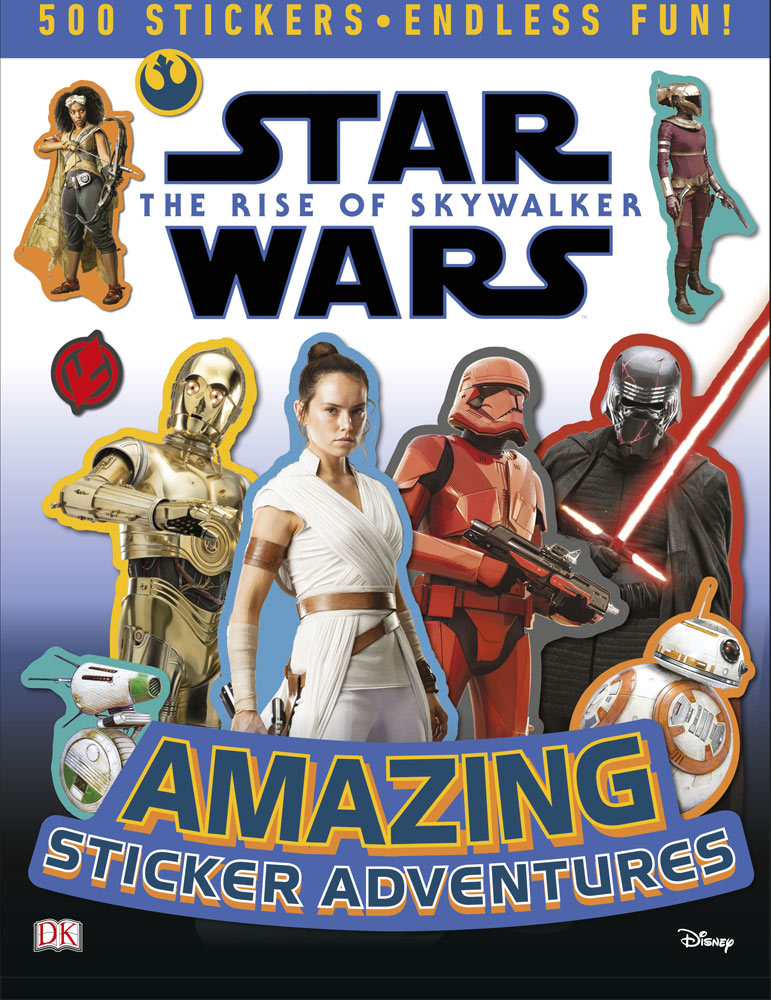 Rise of Skywalker Amazing Sticker Adventure cover