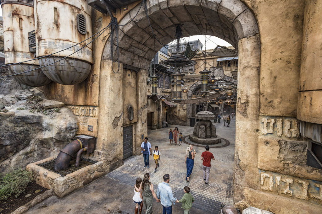 Galaxy's Edge entrance