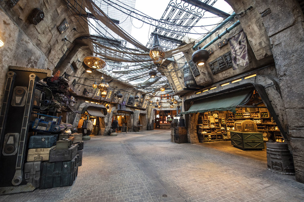 Star Wars Galaxy's Edge shops