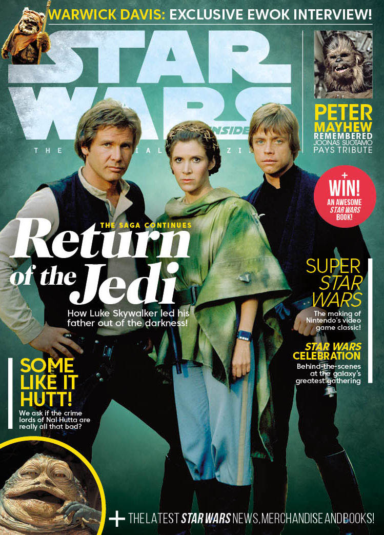 The cover of Star Wars Insider 191.