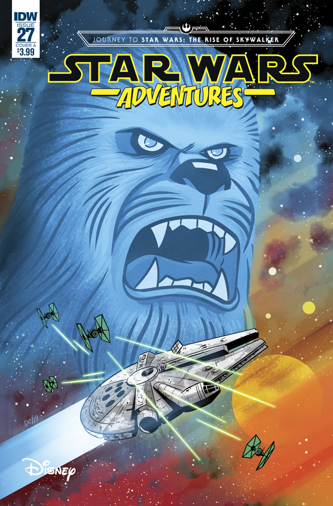 Star Wars Adventures 27 cover