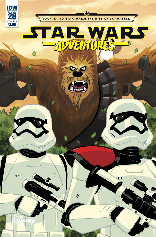 Star Wars Adventures 28 cover