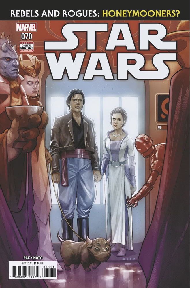 Star Wars 70 comic book cover