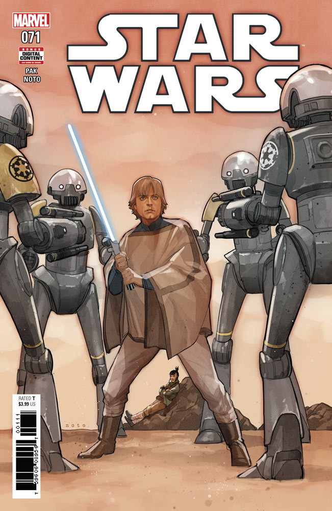 Star Wars 71 comic book cover