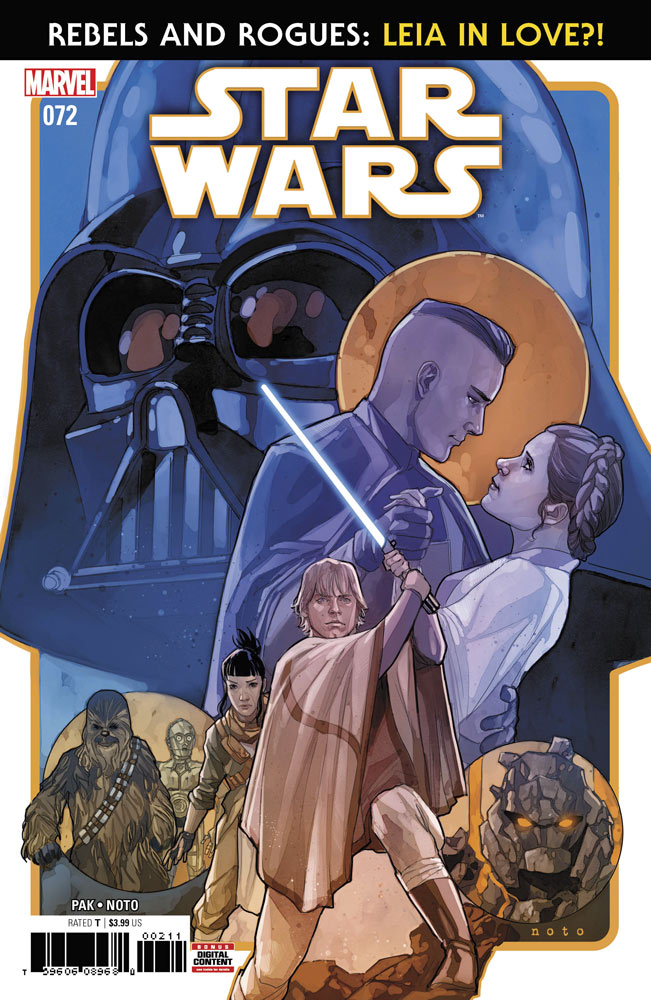 Star Wars 72 comic book cover