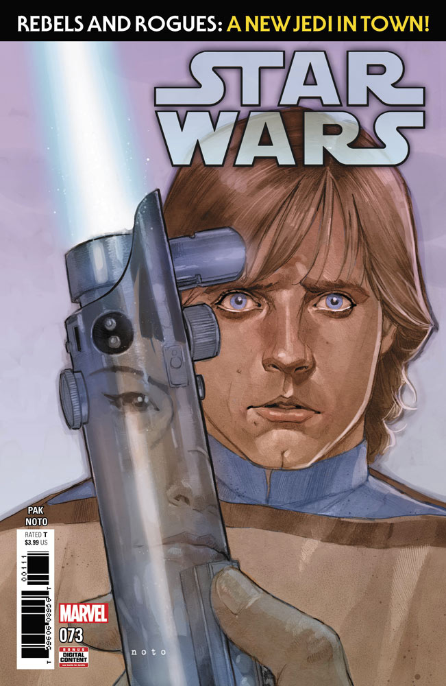 Star Wars 73 comic book cover