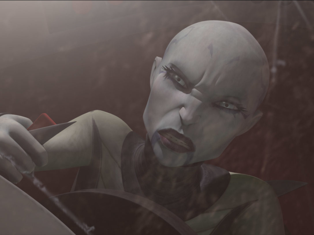 "Asajj Ventress in ""Nightsisters."""