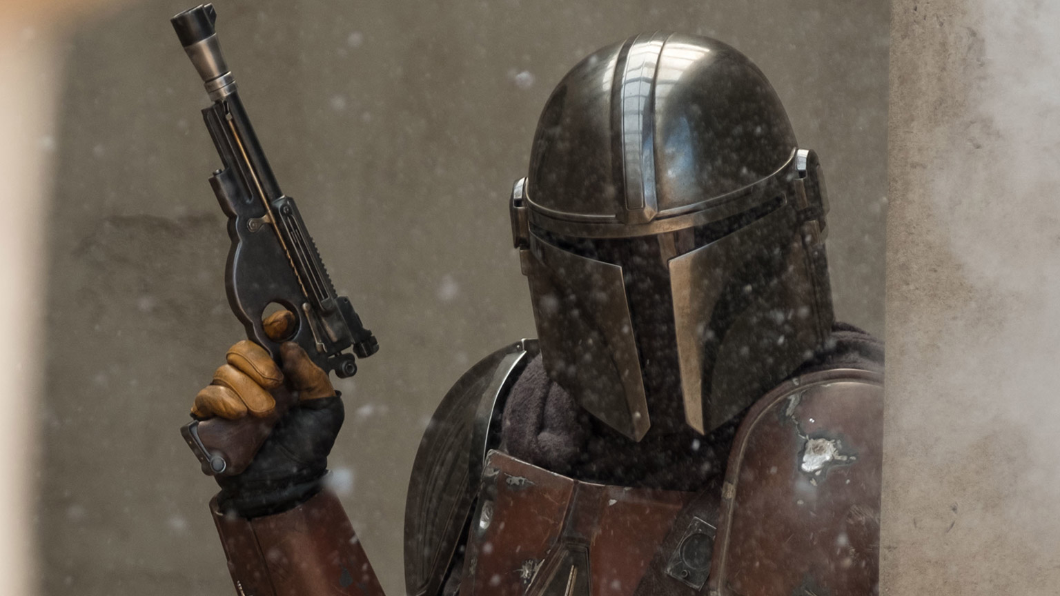 A still from The Mandalorian.