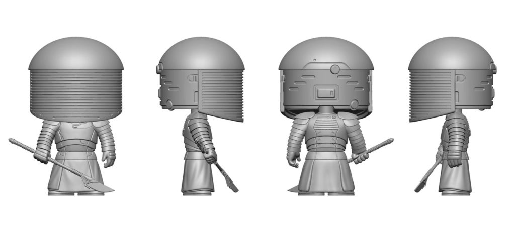 Funko Pop! Praetorian Guard renders