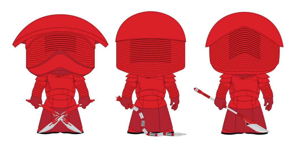 Funko Pop! Praetorian Guard sketches
