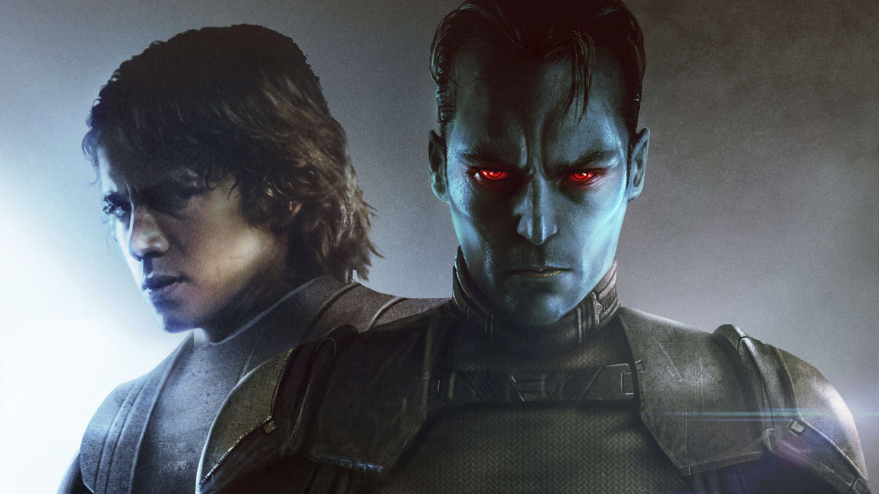 Grand Admiral Thrawn and Anakin