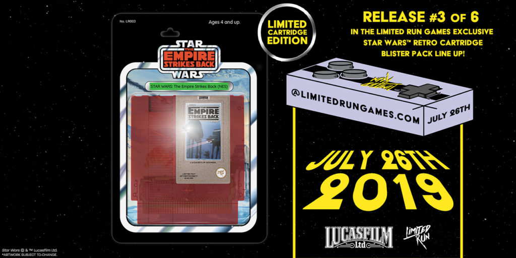 Limited Run Games The Empire Strikes Back NES