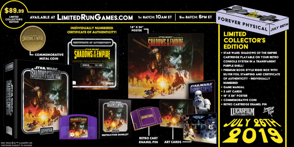 Limited Run Games Shadows of the Empire