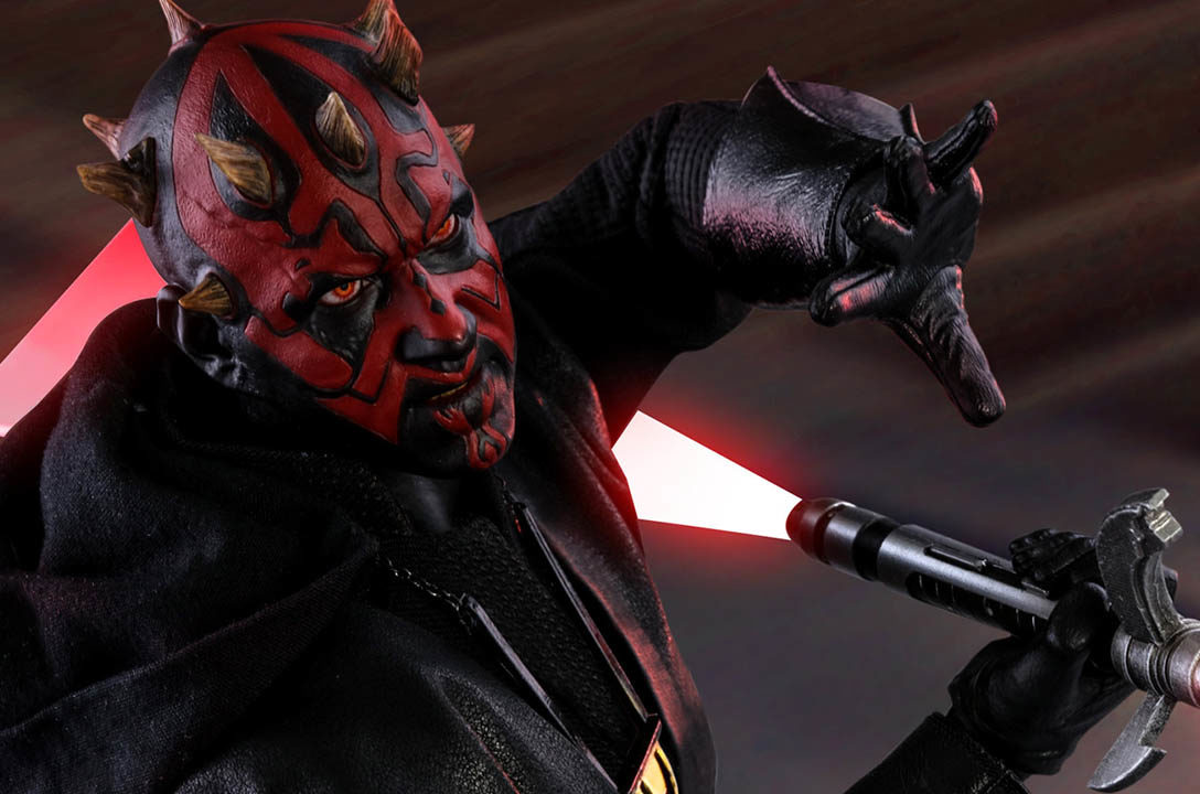 Darth Maul from Hot Toys