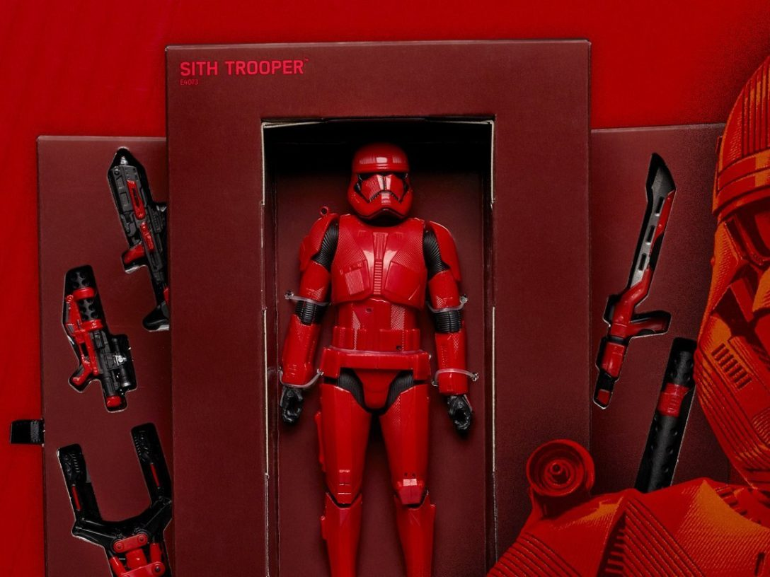 Sith Trooper Black Series figure