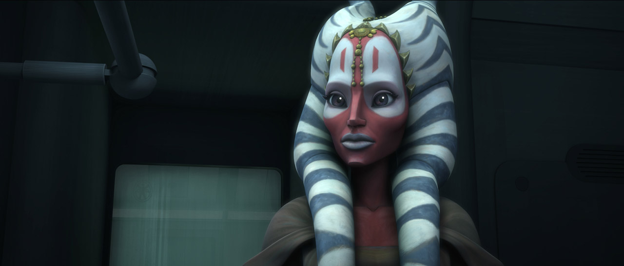 Shaak Ti as seen in Star Wars: The Clone Wars.