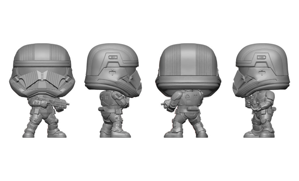 Sith Trooper Funko Pop! renders