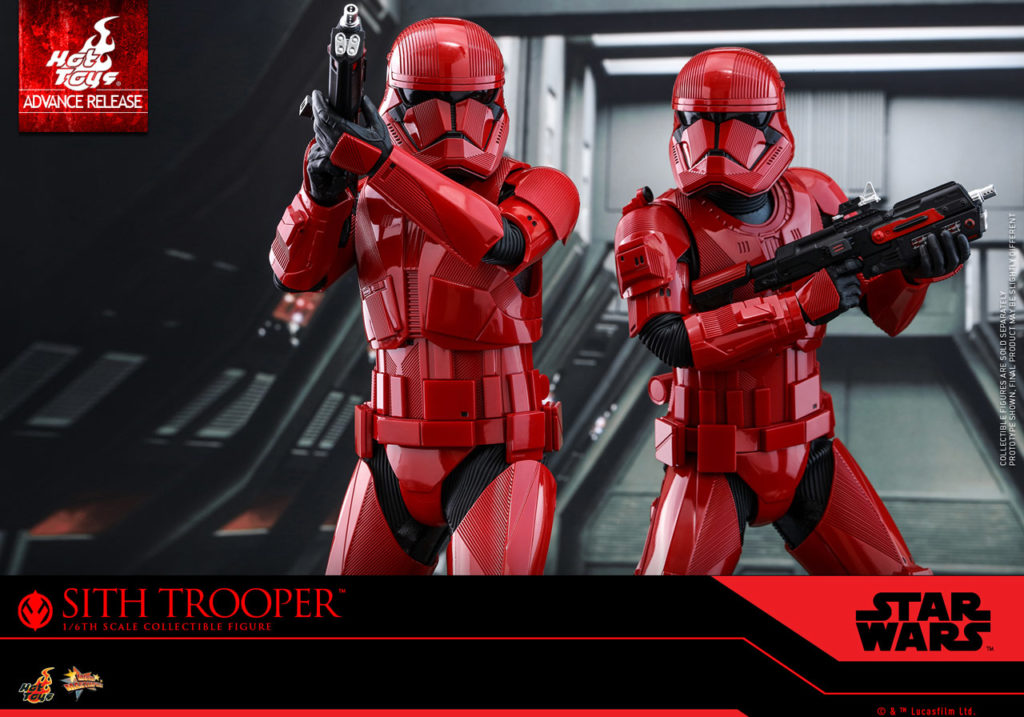 Hot Toys Sith Trooper figures