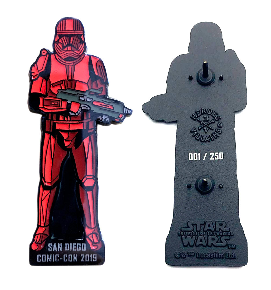 Sith Trooper pin by BioWorld SDCC exclusive