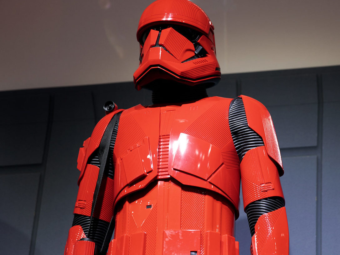 Sith trooper armor at SDCC 2019