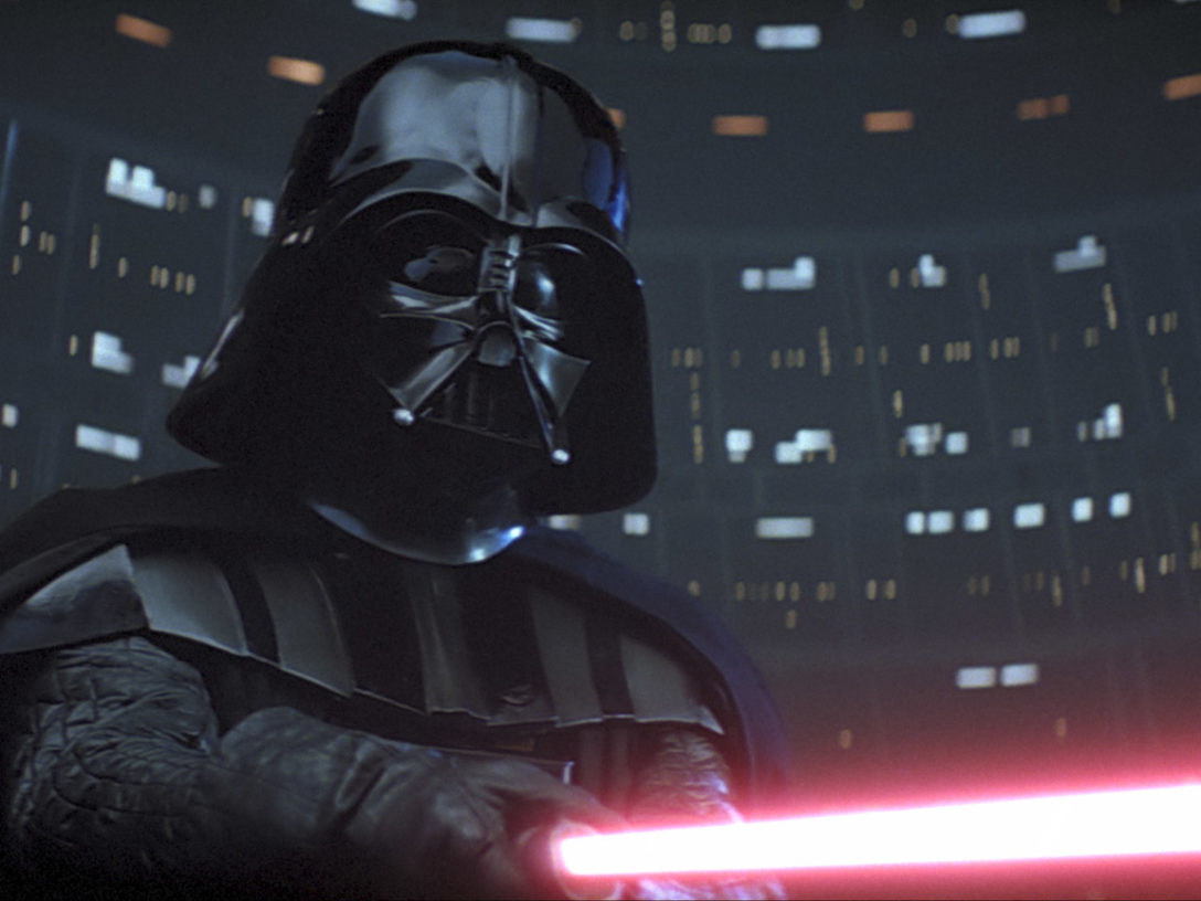 Darth Vader in The Empire Strikes Back/