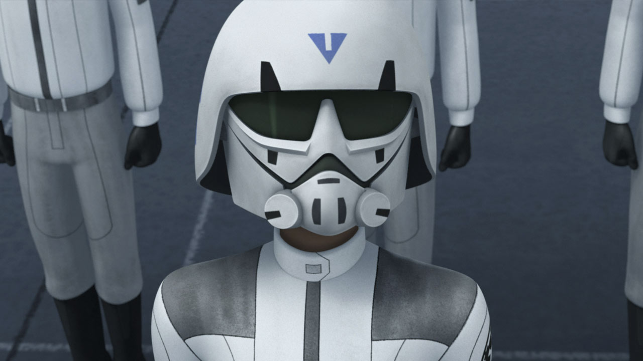 Star Wars Rebels Imperial Academy cadets