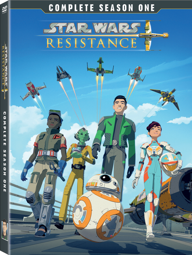 Star Wars Resistance Complete Season One box art