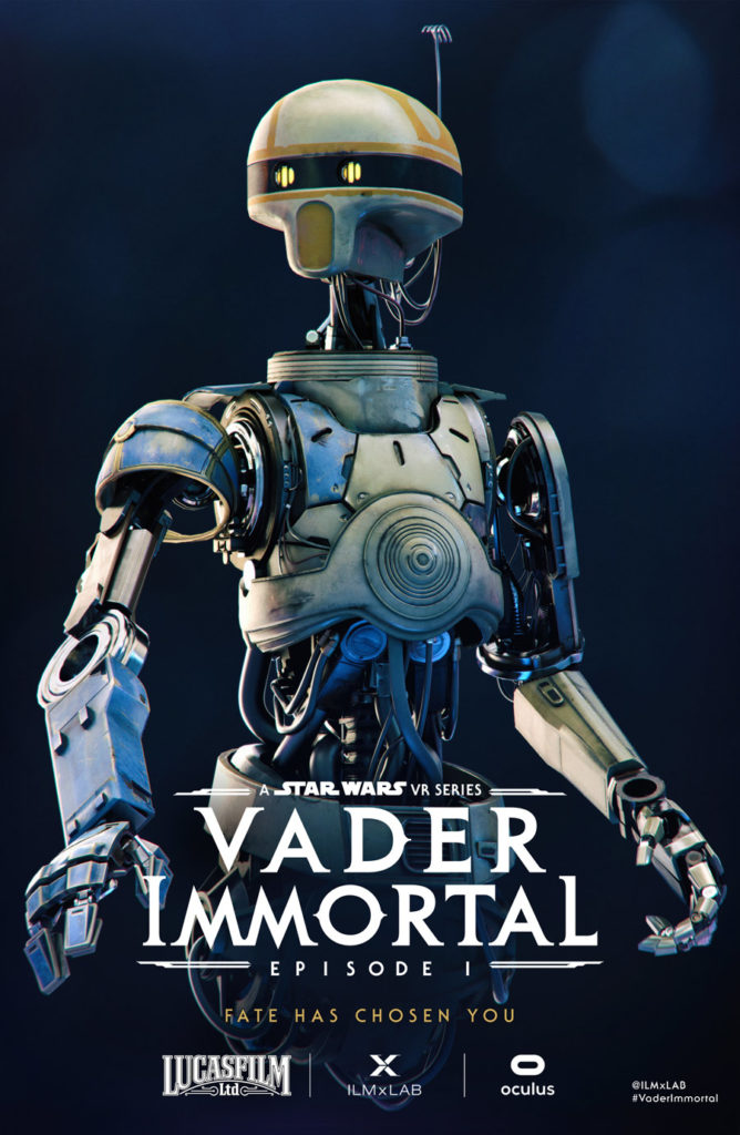 ZO-E3 Vader Immortal SDCC poster