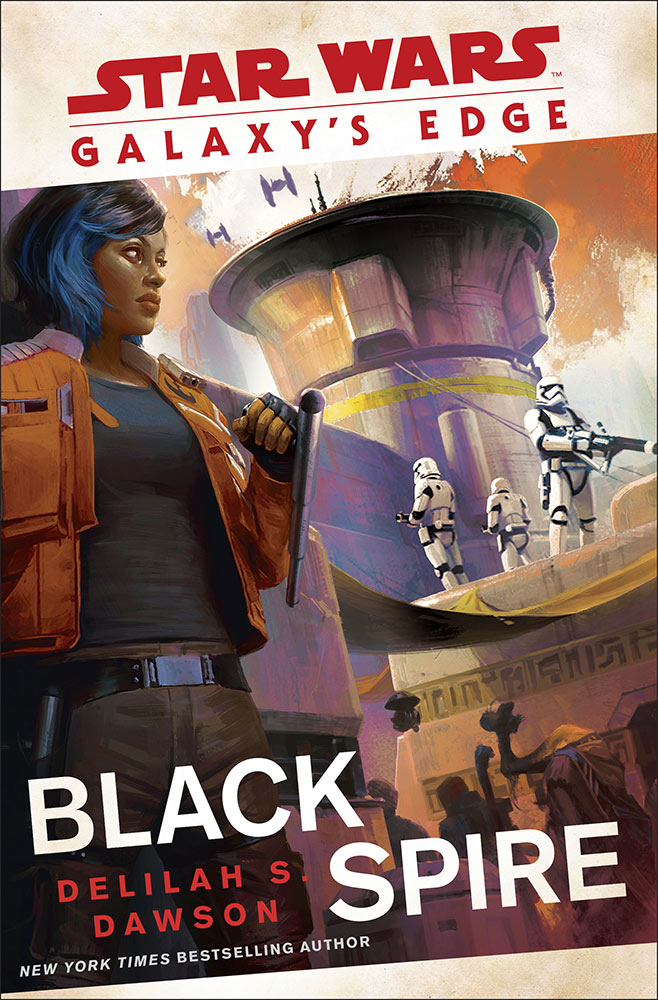 Galaxy's Edge: Black Spire (Star Wars) book cover