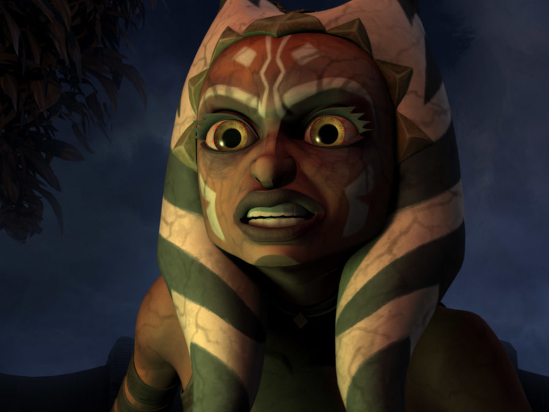 "Ahsoka in ""Altar of Mortis."""