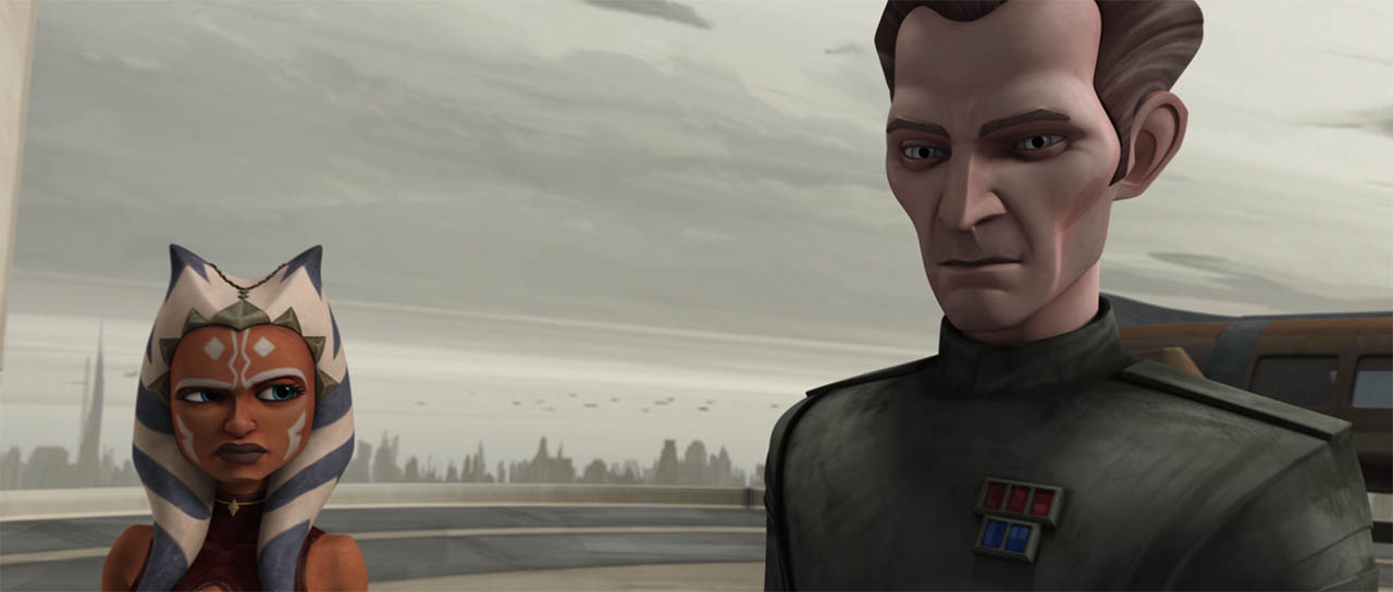 "Tarkin in ""Citadel Rescue."""