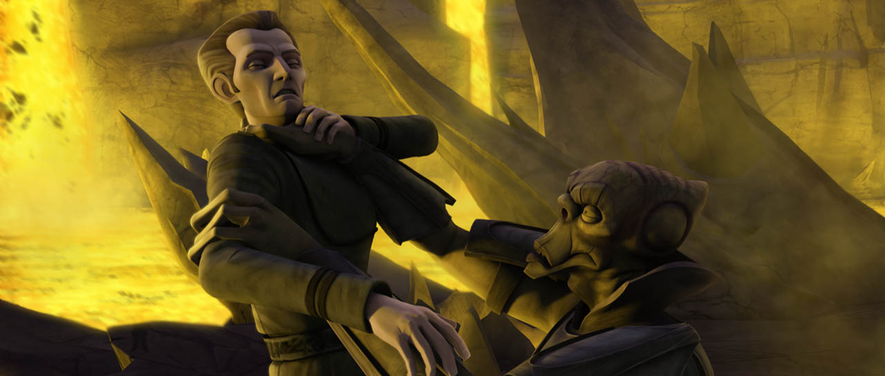 "Tarkin fights for his life in ""Citadel Rescue."""