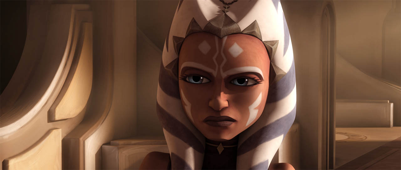 "Ahsoka in ""The Citadel."""