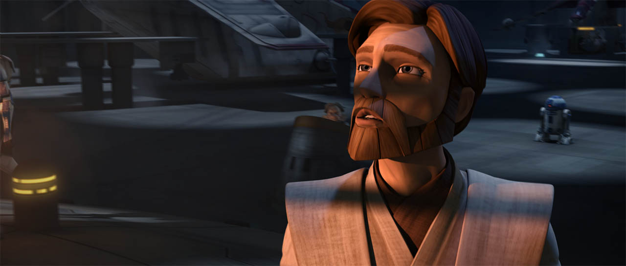 "Obi-Wan in ""The Citadel."""