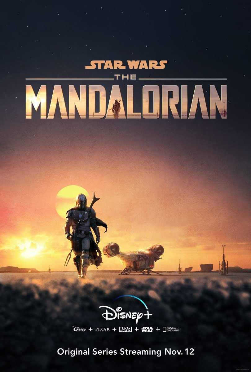 The Mandalorian poster from D23 Expo 2019