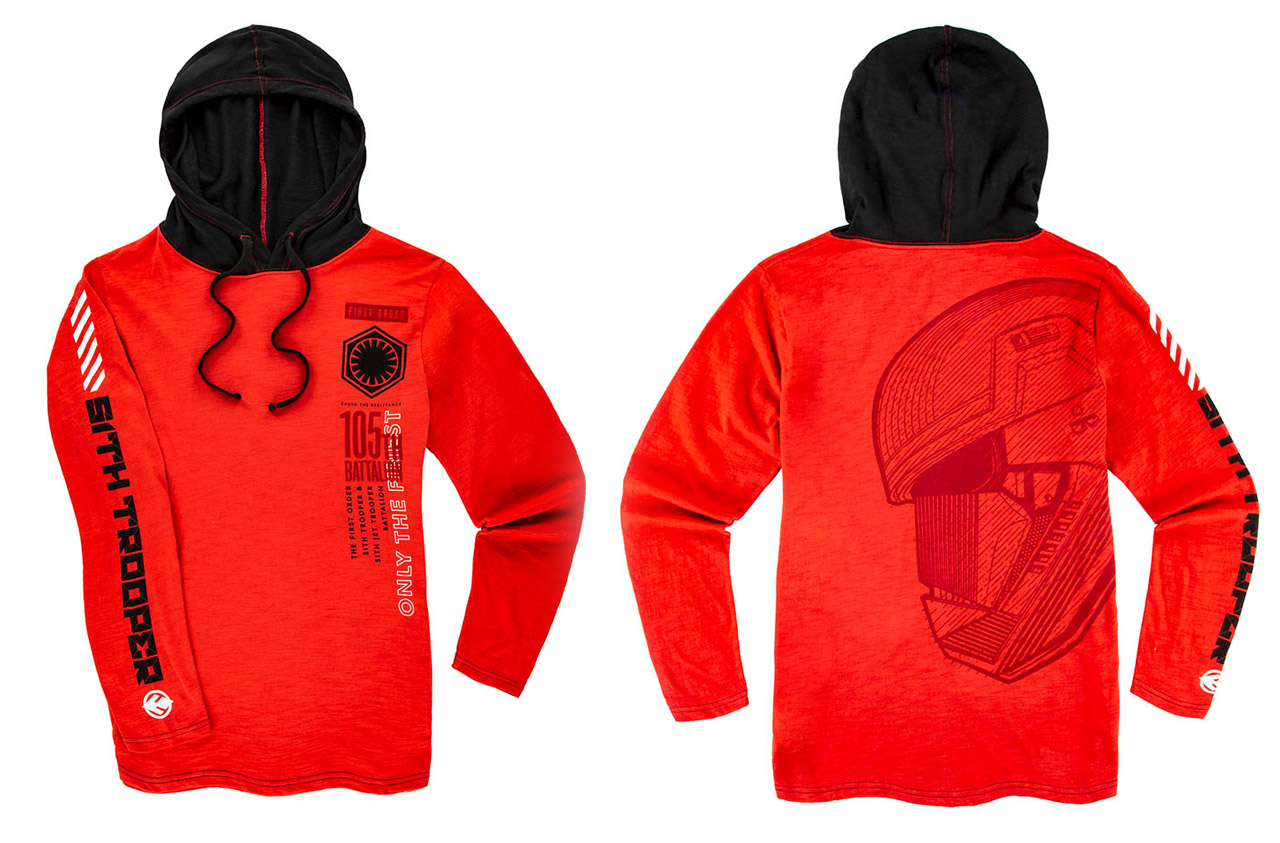 A Sith Trooper sweatshirt from Disney Parks.