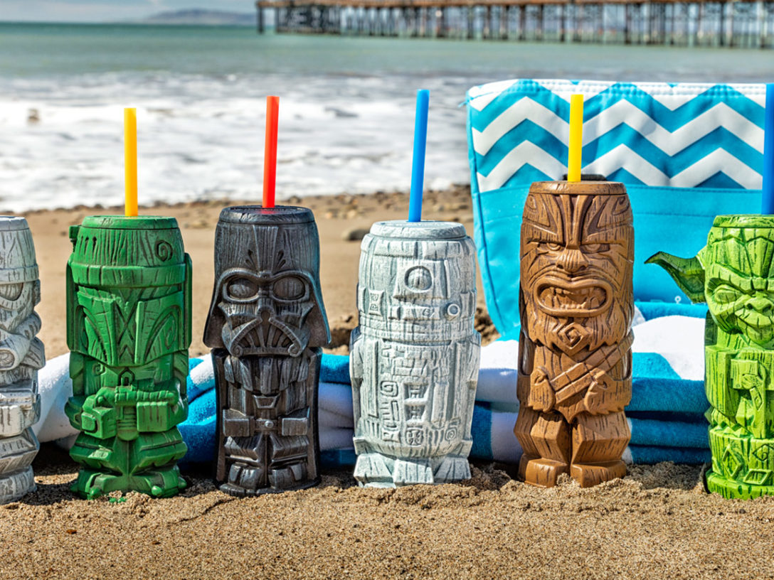 Star Wars Geeki Tiki on beach
