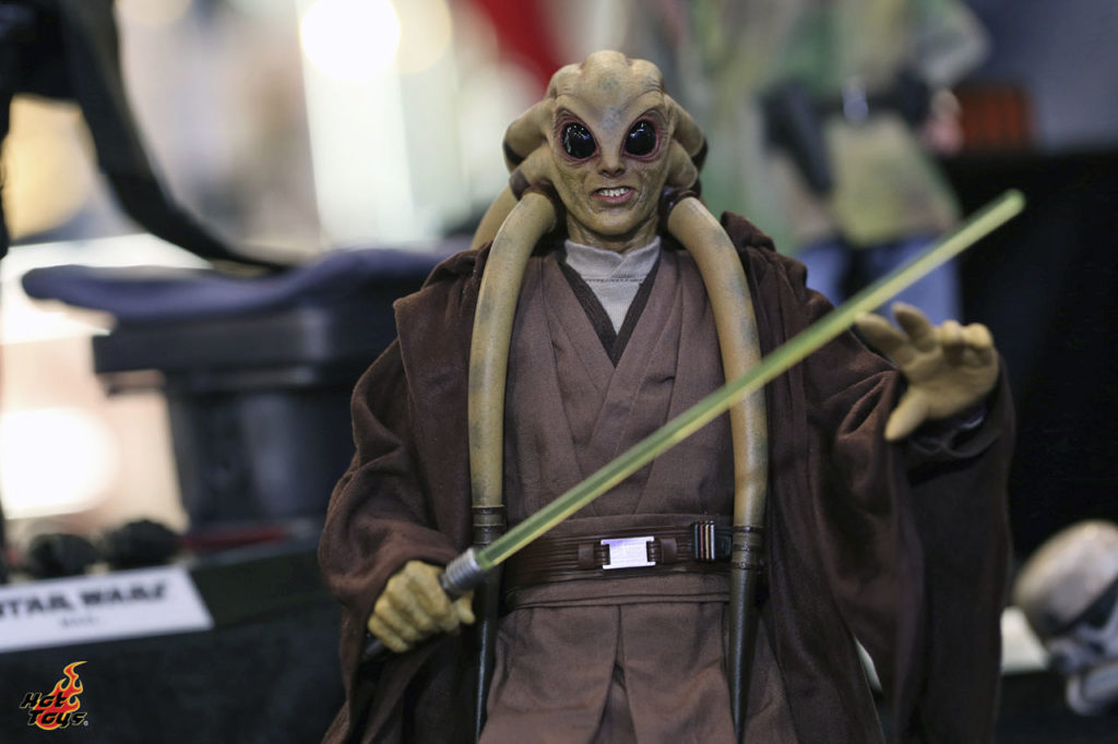 Hot Toys' Kit Fisto figure